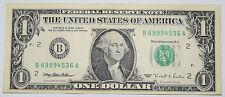USA: $1 DOLLARO BANCONOTA dal 1995 in condizioni AF. USD. numero: B 69994536 a