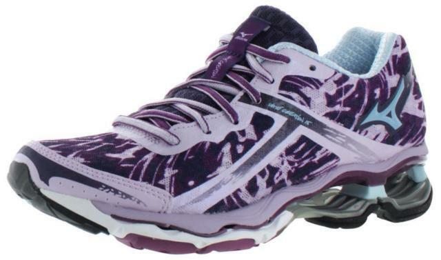 MIZUNO WAVE CREATION 15 Womens Running shoes  NEW Purple, bluee Size 6.5