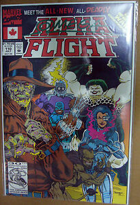 MARVEL-Comics-ALPHA-FLIGHT-110-111-Infinity-War-X-Over
