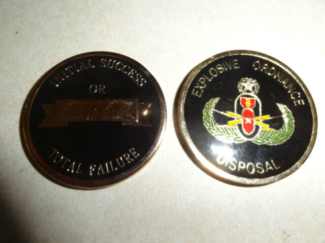 EOD ALC Challenge Coin Reorder by Charlotte Lesperance