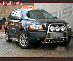 Details About Volvo Xc90 2002 2007 High Bull Bar Nudge Bar A Bar Gratis Stainless Steel