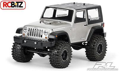 Jeep Wrangler Rubicon 2009 Clear Body 3322 Axial SCX10 Dingo decal window masks