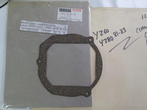 n 4v0-15451-00 Yamaha Yz60 Yz80 1981-83 Nos Kurbelgehäuse Dichtung P