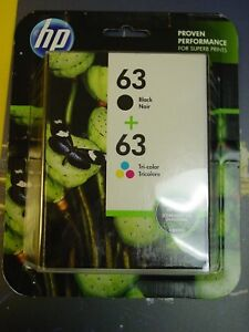 Genuine-HP-63-Black-and-Tri-Color-Ink-Combo-L0R46AN-Expires-01-2020-NEW