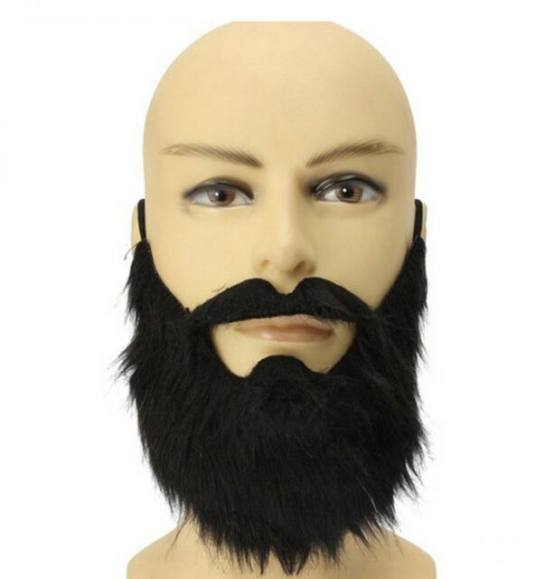 1PC Funny Halloween Party Fake Beard Moustache Mustache Facial Hair Costume