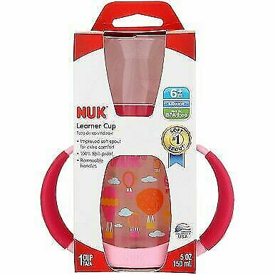 5 oz Nuk Learner Cup Assorted Patterns 6+ months