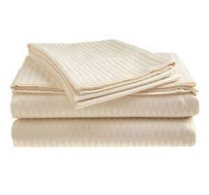 Best-Bed-Sheet-Set-100-Cotton-Sheets-King-Size-Deep-Pocket-Flat-Fitted-4-PC-Set