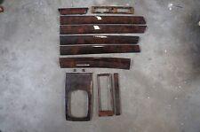 98-04 Audi C5 A6 OEM Wood Grain Trim Set Dark