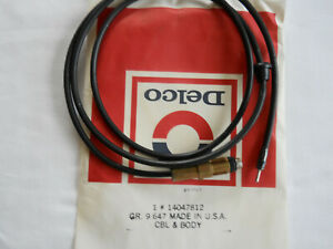 69-72 NOS Delco Antenna Radio Lead-In Cable GM 14047812 LC27 Chevy Buick Pontiac