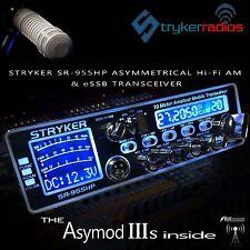 STRYKER SR-955HP & THE NEW ASYMOD IIIs ASYMMETRICAL Hi-Fi AM MODULATOR + eSSB