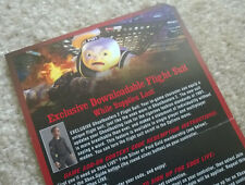 """Ghostbusters Video Game """"Flightsuit"""" VOUCHER CARD + DLC download code (Xbox 360)"""