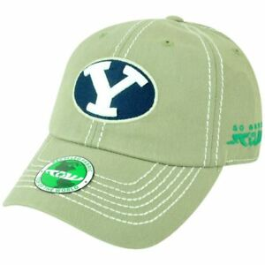 NCAA TOW Brigham Young Cougars Garment Wash Relaxed Sun Buckle Recycled Hat Cap