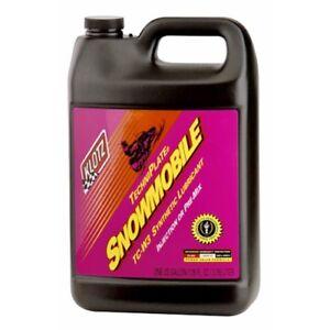 Klotz Synthetic Tc W3 Techniplate 2 Stroke Snowmobile Oil