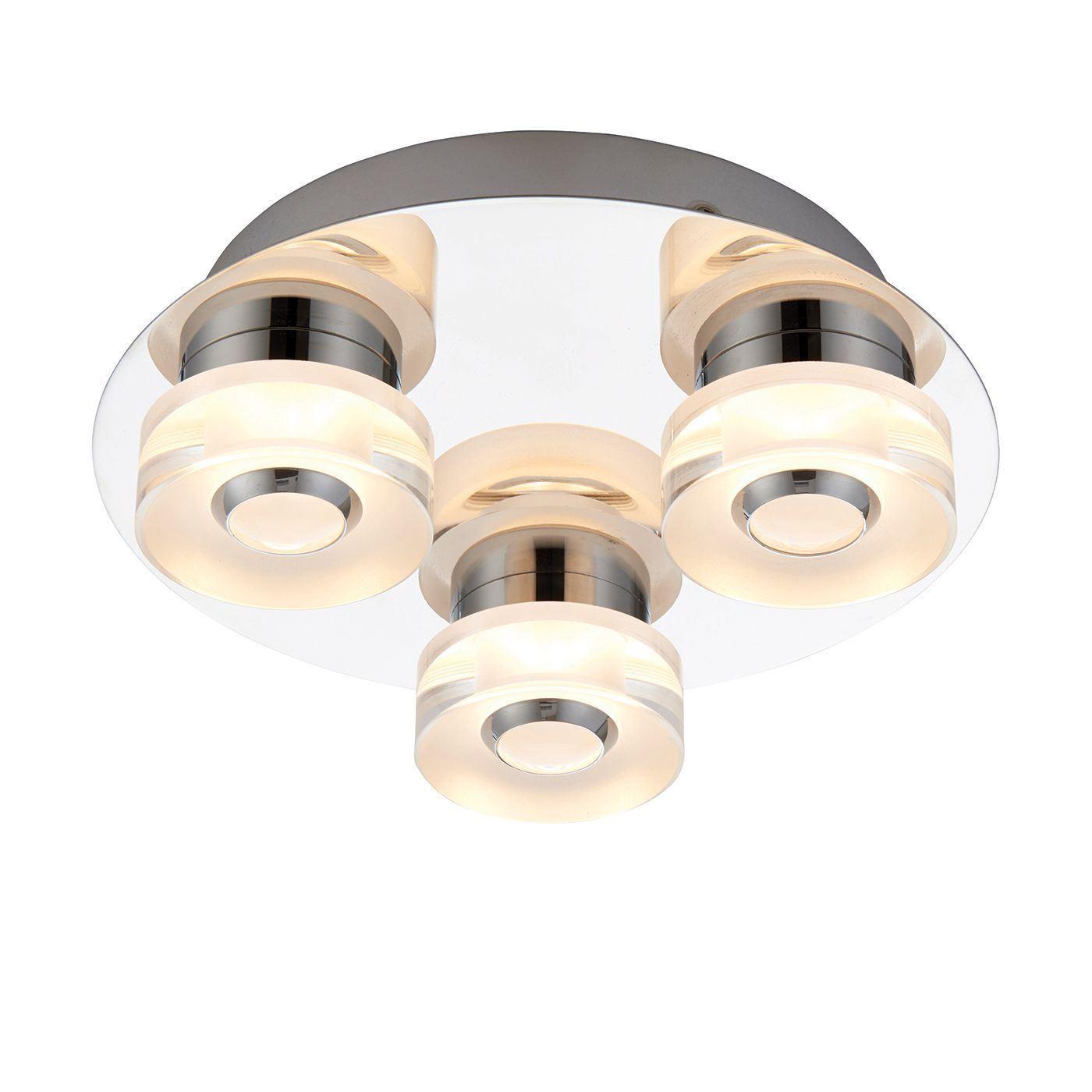Endon Lighting Rita 3lt encastré IP44 4.5 4.5 4.5 W & 0.45 W SW 68911   De Haute Qualité Et De Bas Frais Généraux  266566
