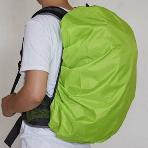 Waterproof Water Resistant Dust Rain Cover For Outdoor Sports Backpack Green