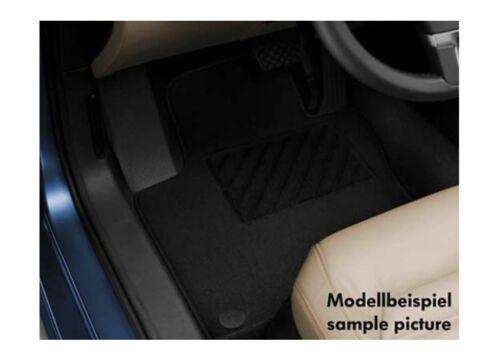 Original VW VOLKSWAGEN TOURAN 3 Tissu Tapis plus 4 pièces Textile Tapis de sol