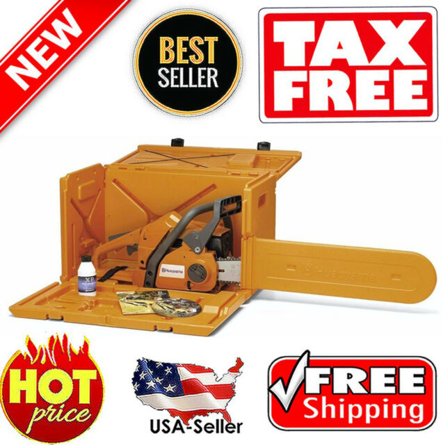 Husqvarna 100000107 Powerbox Chainsaw Carrying Case for 455 ...