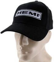 Dodge Mopar Hemi Black Baseball Cap Trucker Hat Snapback Charger Challenger