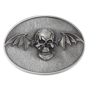 Vintage-Wing-Skull-Jeans-Metal-Belt-Buckles-for-Western-Cowboy-Men-039-s-Accessories