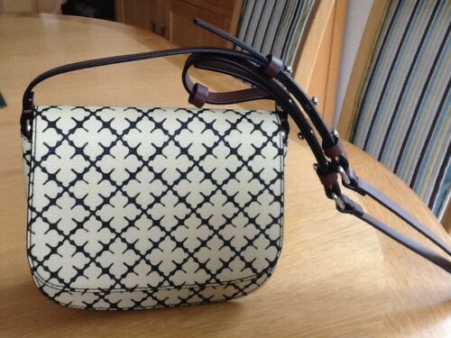 Black 199 Birger Malene Across Nwt Bag Print Crossby Rrp Di £ Cream Body gaf8xqfP