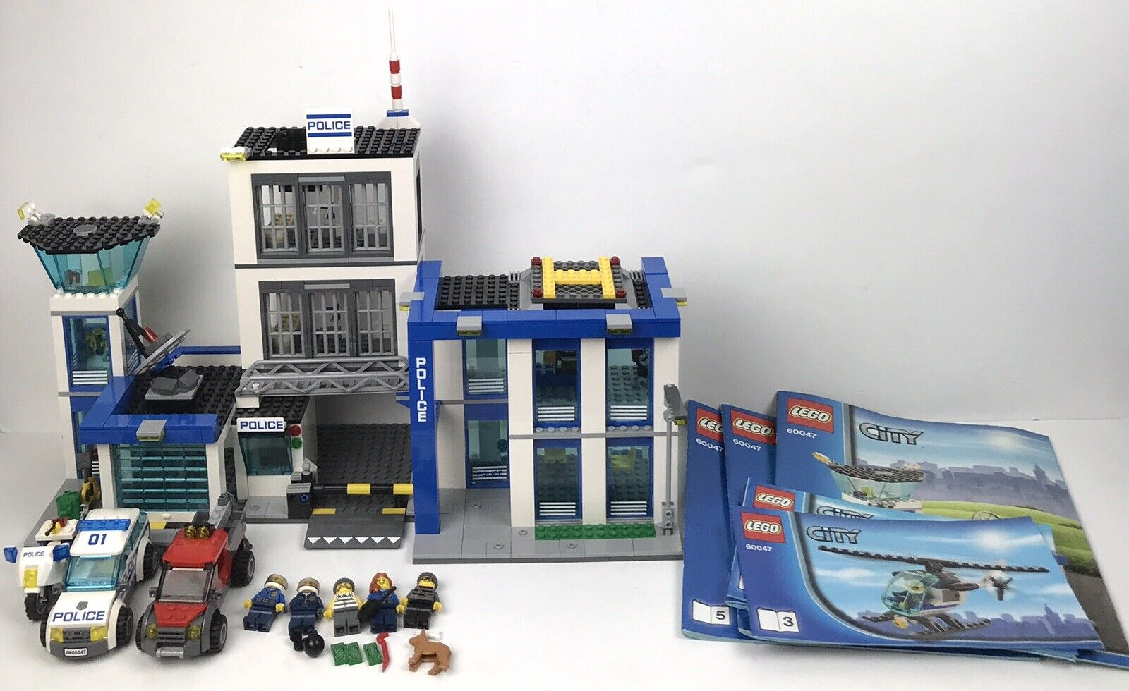 LEGO #60047 City Police Station  Building Block Set NEW SEAL