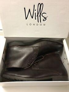 Will's Vegan Chukka Boots - Brown - Men