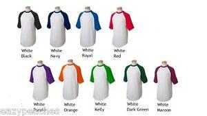 Augusta-Sports-Mens-Size-S-3XL-Short-Sleeve-Baseball-Jersey-T-Shirt-Raglan-423