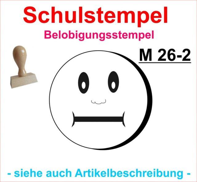 Schulstempel Stempel Schule Lehrerstempel Belobigungsstempel  M 18-2