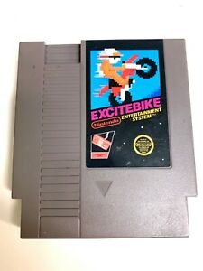 Nintendo NES Excitebike Video Game Cartridge *Authentic* *Cleaned/Tested*