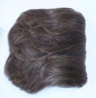 Human Hair Pull-through Wiglet 3x5 Base, 5-6 Long, 2 Clips, 2 Combs Hh88