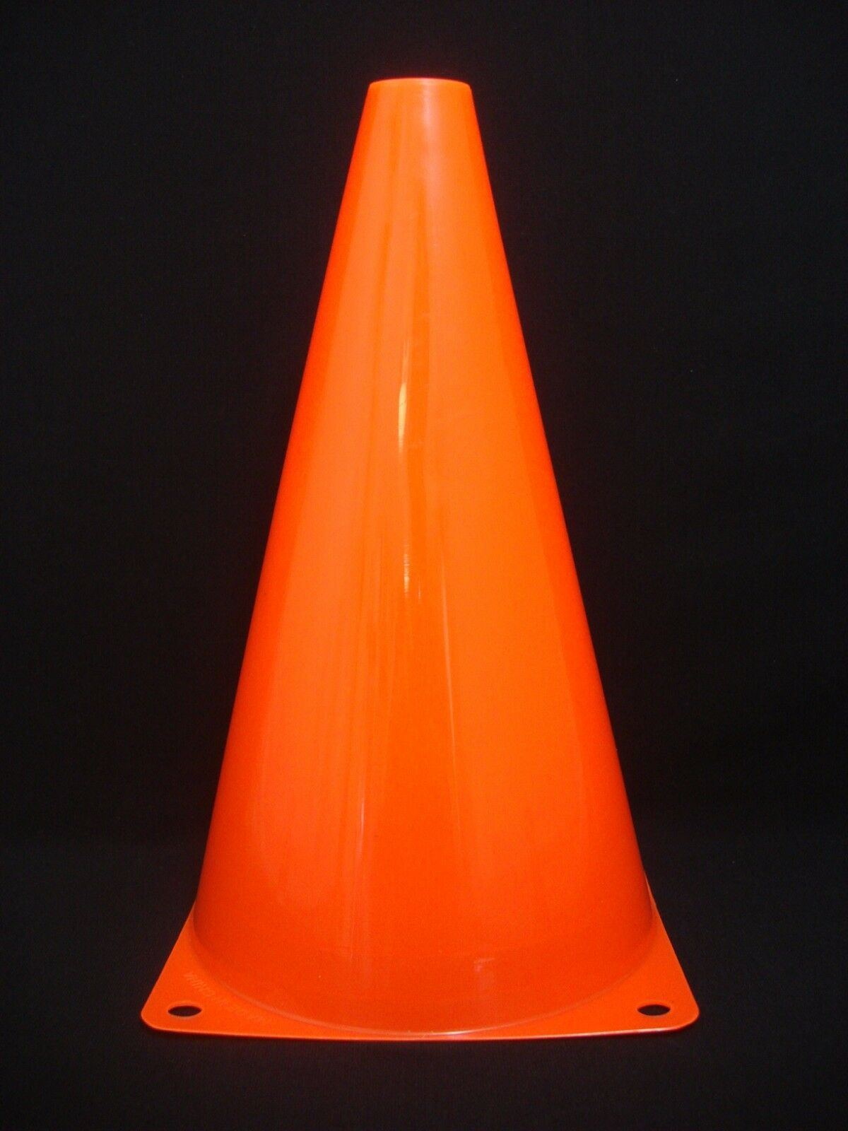 "96 My Little Cone Sports Football Soccer Skating Game 9.5"" High Cones orange"