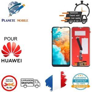 ECRAN LCD + VITRE TACTILE pour HUAWEI Y6 2019 NOIR + outils