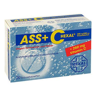 ASS + C HEXAL g.Schmerz.+Fieb. Brausetabl. 20St PZN 00255504