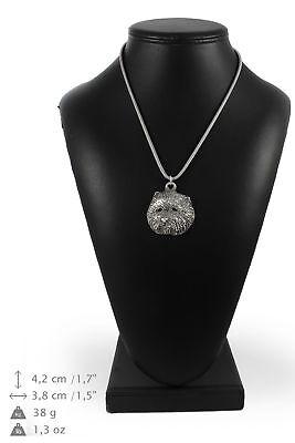 100% Wahr Westie - Halskette Mit Einem Hund An Einer Silberschnur Art Dog De Tropf-Trocken