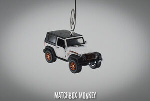 Jeep Christmas Ornament.Details About White Custom Jeep Wrangler Unlimited Hard Top Christmas Ornament 1 64 Adorno