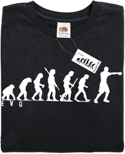 APE Nero-fantastico regalo. PUGILATO-Mans Evoluzione T-shirt ®