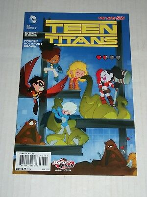 HARLEY QUINN #18 VARIANT TEEN TITANS GO THE NEW 52 DC COMICS VF//NM CB649