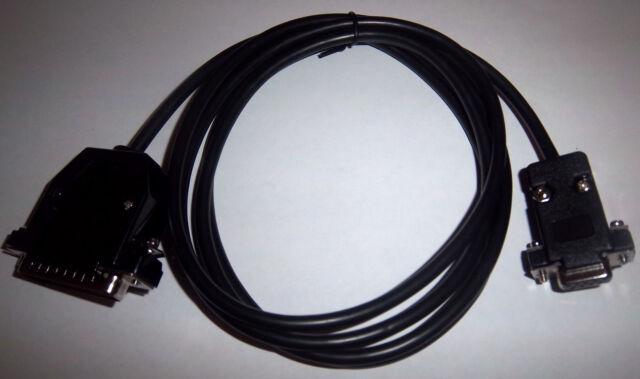 NEW RS232 DSUB 9 PIN - 25 PIN VARIOUS EPOS POS SERIAL RECEIPT PRINTER CABLE