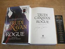The Rogue: Canavan, Trudi,SIGNED COPY,FIRST EDITION HARDBACK 2011,