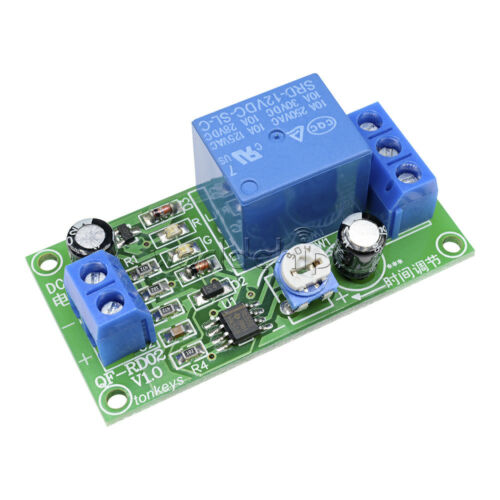 Relays DC 12V NE555 Delay Time Relay Timer Adjustable Switch ...