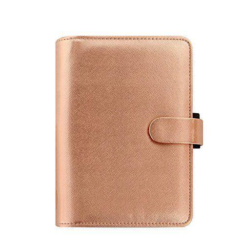 Filofax Personal Saffiano Organiser - pink gold