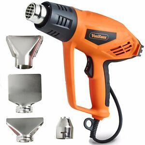 VonHaus Heat Gun - Hot Air Gun 2000W – Remove Paint, Varnish & Adhesives