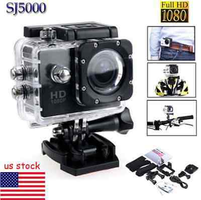 SJ5000 1080P FHD Waterproof DV Sports Recorder Action Camera Camcorder Cam A