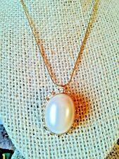 Fashion Brass Gold Plated Carla TASSEL Crystal Pendant Necklace XL1632