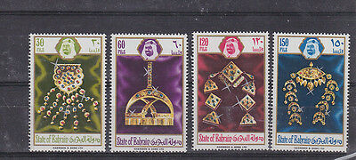 Bahrain (1971-now) F1821 Comfortable And Easy To Wear Lovely 1975 Sc 218/21,set Mnh Jewelry Stamps