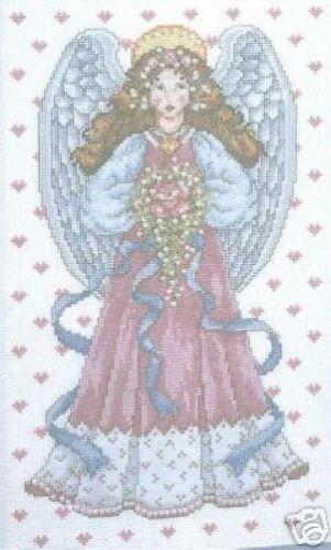 "Angel Of Love Cross Stitch Kit Design Works 8/"" x 13/"" 14 Count"