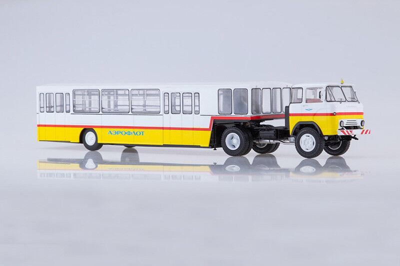 KAZ 608 + APPA - 4 soviétique Airport Shuttle Bus 1 43 Start Scale Models SSM7048
