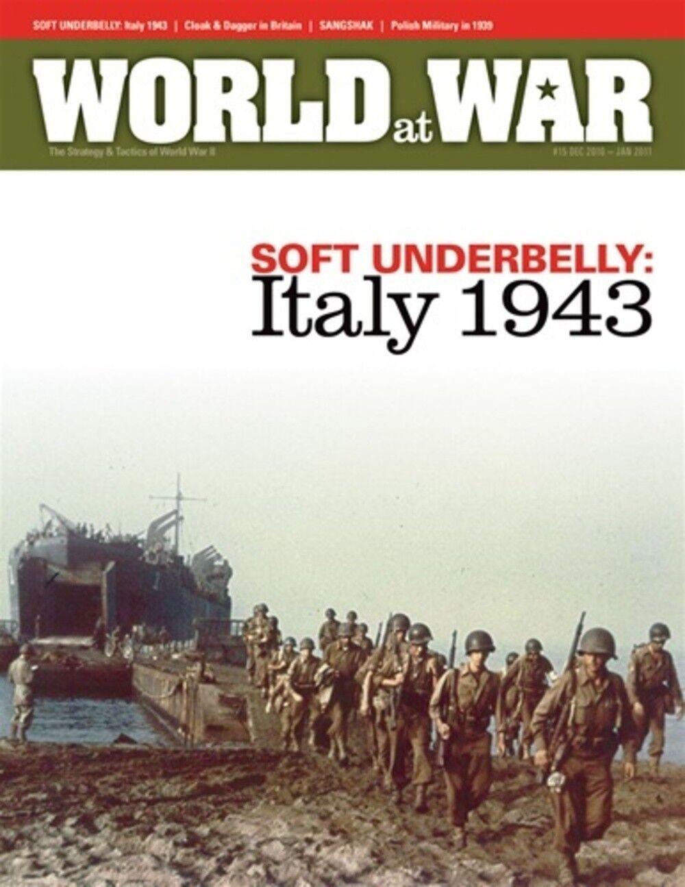 Welt at War Nummer 15 weich Unterseite Italien 1943 - ungelocht
