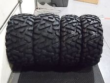 "27"" QUADKING ATV / UTV TIRES FULL COMPLETE SET 4 - 27X9-12 27X12-12  BIGGHORN"