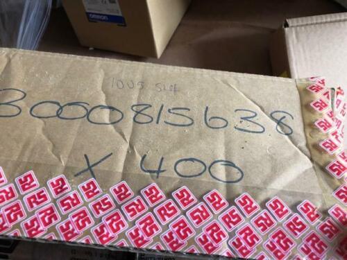 05Sh 815638 Box of 100 x Contaclip RK Series 500V Non-Fused DIN Rail Terminal